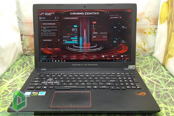 Laptop Gaming Asus ROG Strix GL553VE - FY096 (i7|16G|SSD250+HDD1T|GTX 1050Ti|15.6)