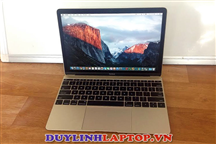 The New MacBook Retina 12 inch 2015 Gold cũ(Intel Core M 1.1G/ RAM 8GB/ SSD 256GB/ màn 12/ Pin 7h)