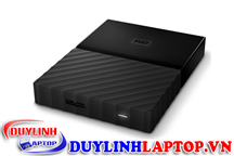Ổ cứng di động WD My Passport 2TB Black Worldwide