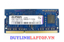 ram laptop Elpida 4gb ddr3 12800s