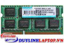 Ram Laptop Kingmax 8GB DDR3 Bus 1600 mới