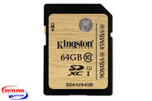 Thẻ nhớ Kingston SD Class 10 SDA10/64GB
