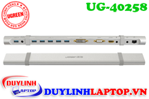 USB 3.0 to HDMI, VGA, DVI, USB, Lan, Audio, SD, TF Ugreen 40258