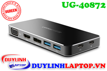USB Type C to HDMI, VGA, Displayport, USB, USB Type C Ugreen 40872